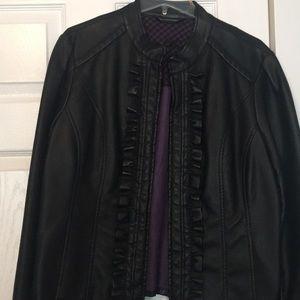 Leather jacket but Steve Madden, sz XL